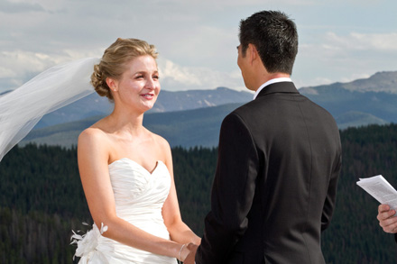 vail Gondola Wedding