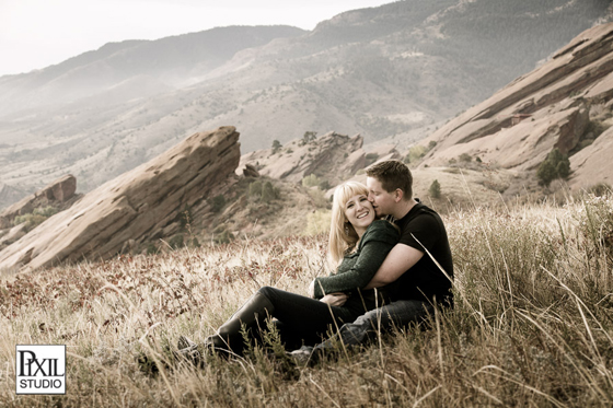 red-rocks-engagement photography