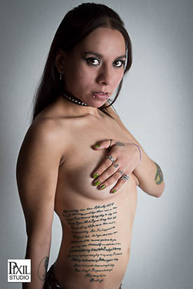 Jessica Love Tattoo Model