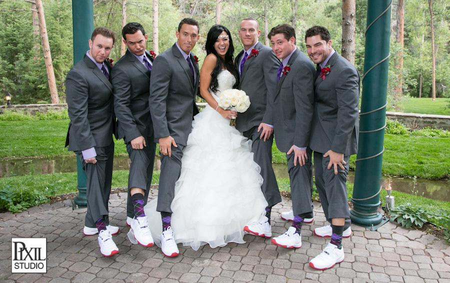 Jordan Shoes Denver Wedding Photography