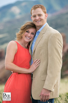 red rocks and mathew winters engagement photos