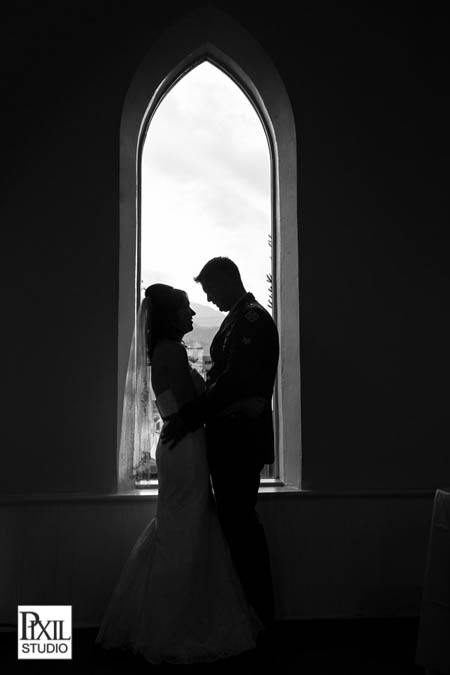 2013 wedding silhouette