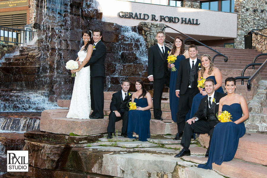 beaver creek bridal party