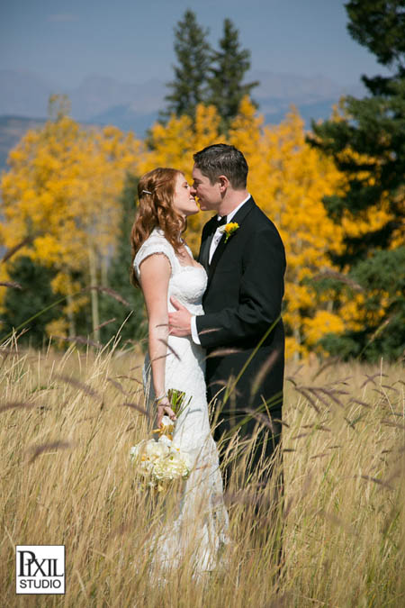 beaver creek wedding fall