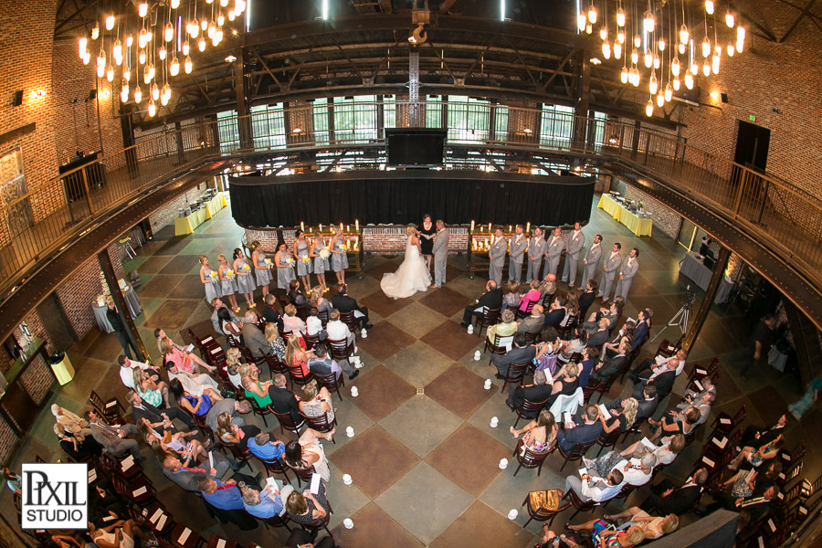 Mile High Station Wedding Ceramony