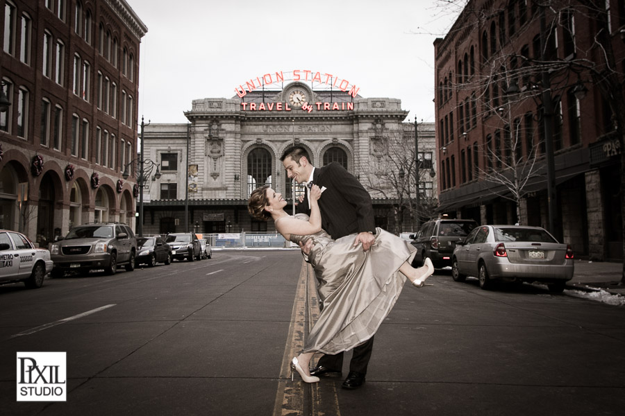 denver union station wedding dip