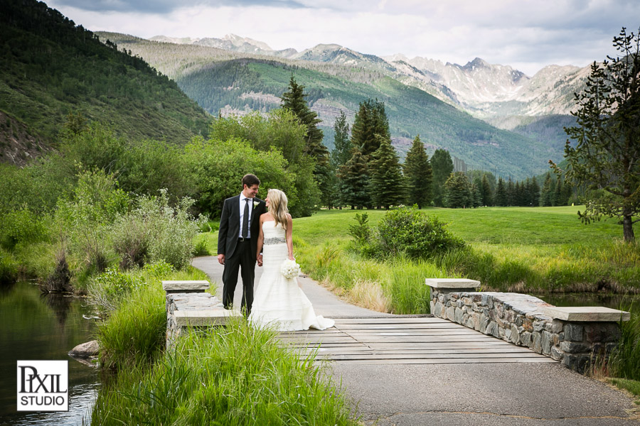 vail wedding mountains