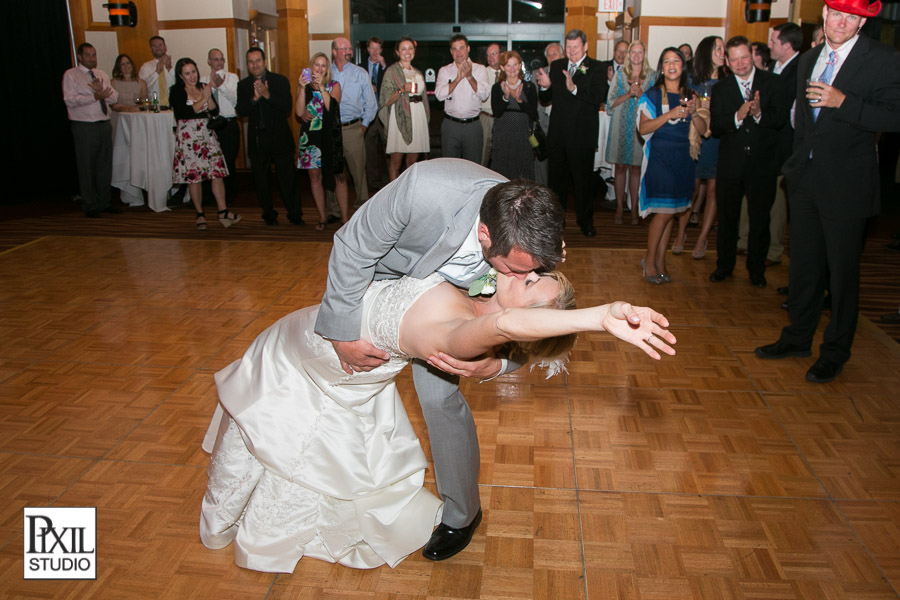 wedding dance dip