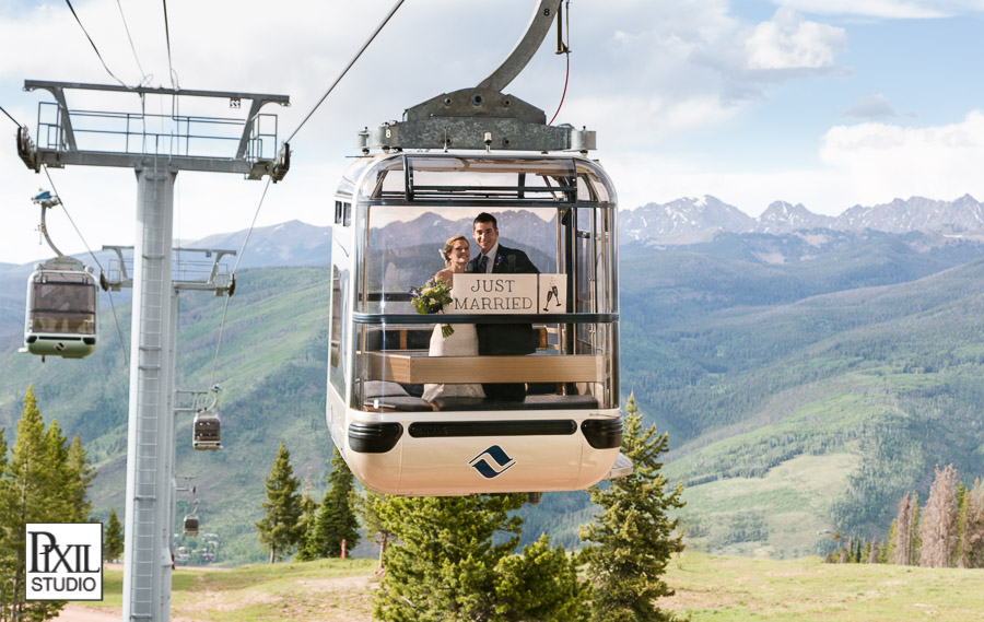 vail wedding gondola