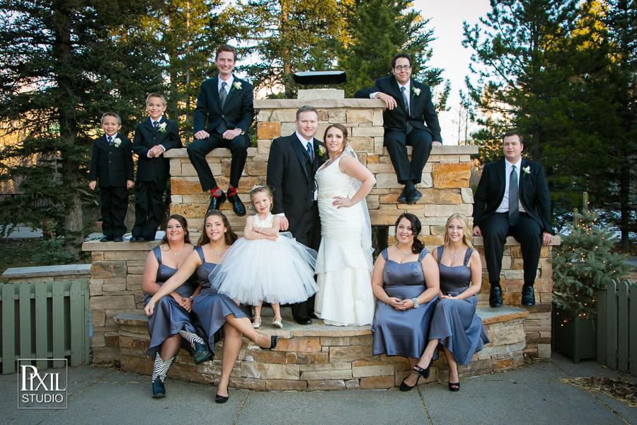 wedding silverthorn pavilion