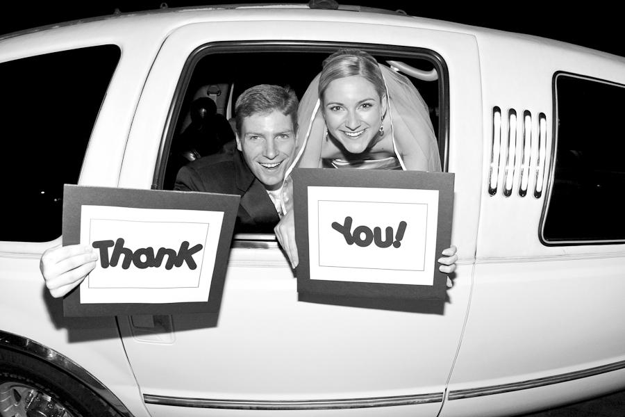 Denver wedding photographer thank you