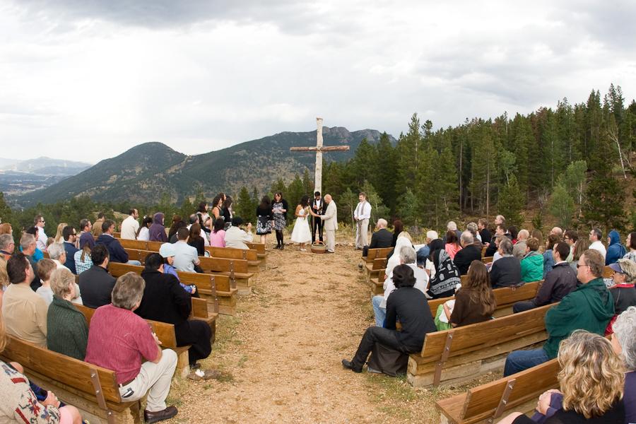 estes park ymca wedding