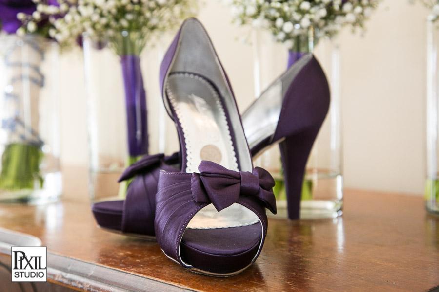 purple wedding shoes six pence