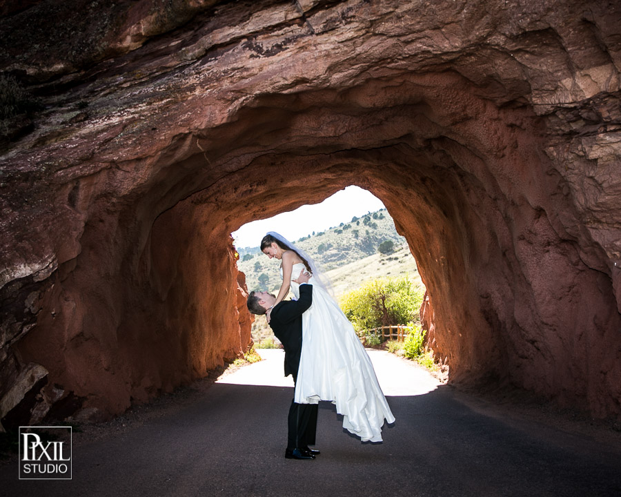 redrocks wedding