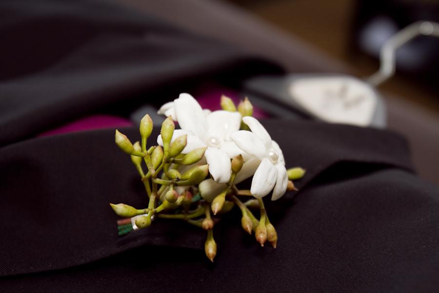 wedding details boutineer